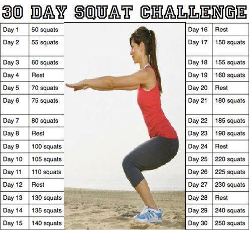 30 Day Challenges! (1/2)