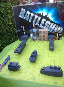 Battleshots! Girls vs Guys, and oh yah! Girls won! wOOt! :)