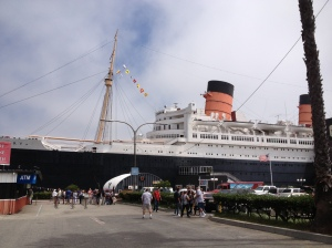 The Queen Mary (haunted ship) in Santa Monica