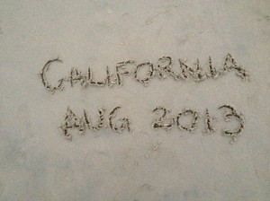 There is sand, I will write in it, easy as that :)