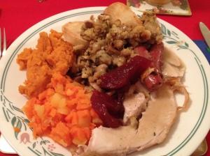 Mmm! Christmas dinner!