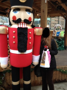 The oh so handsome Nutcracker and I