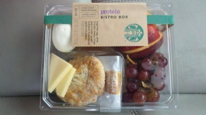 Breakfast and Lunch from Starbucks