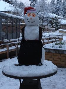 Gotta love a snowman!