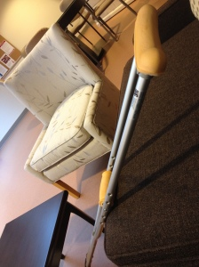 one of my crutches, I feel it needs a name but what to call it?