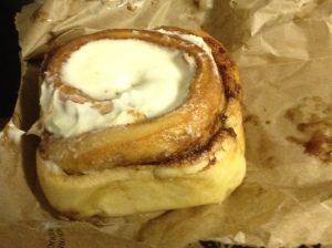 Best cinnamon bun ever!