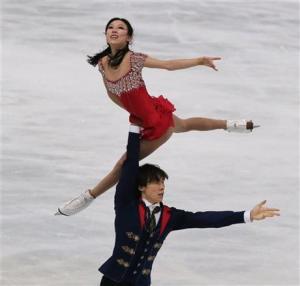 sochi 2014 chinese pairs skaters