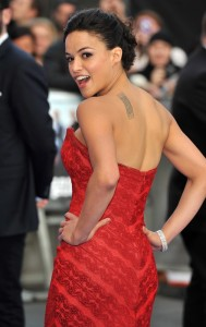 Michelle Rodriguez - slim but with muscle