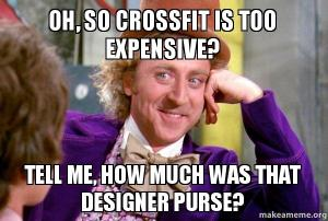 I don't have the designer purse either :P