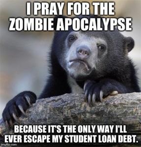 student loan meme