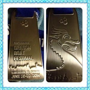 My medal!