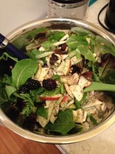 KL's amazing salad