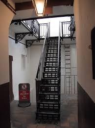 One of the stairwells, most weren't so fancy looking.