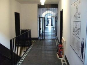 Upstairs hall.