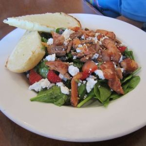 white-spot_candied-salmon-spinach-salad