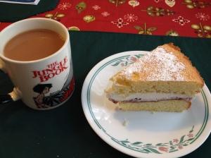 Queen Victoria Sponge Cake