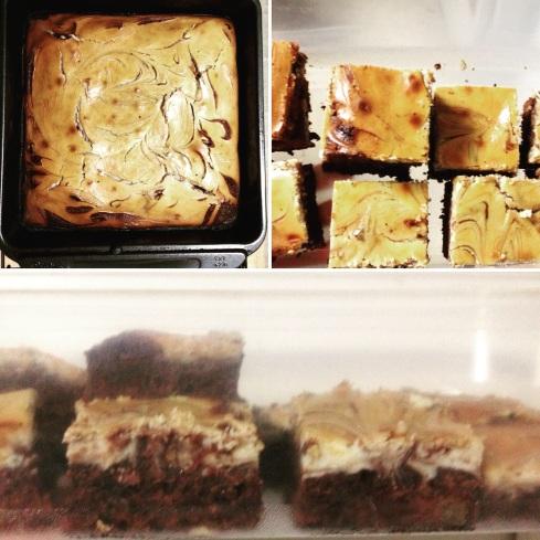 chocolate fudge cheesecake brownies
