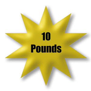 10 pounds lost