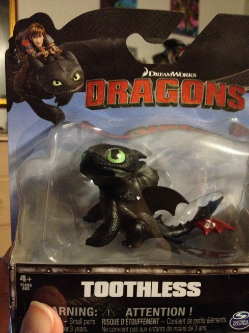 Its Toothless! Awwww!