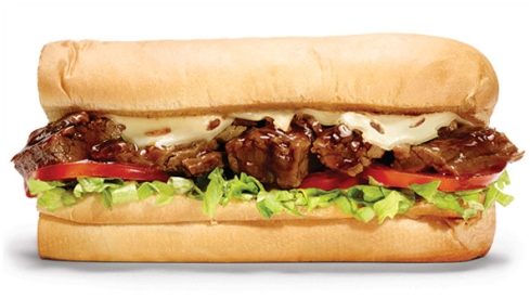 subway prime rib swiss melt