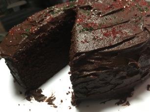 my choc cake 2