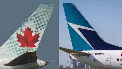 air canada vs westjet